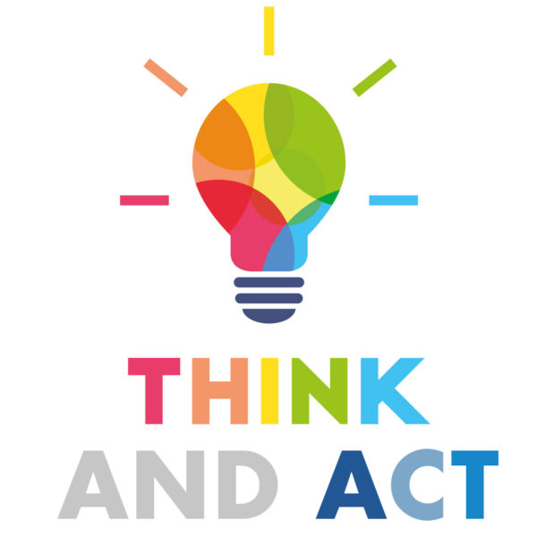 THINK AND ACT ... with us